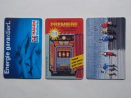 Lot 3 Télécartes ALLEMAGNE (TC 119/120) - Autres