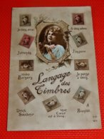FANTAISIES - LANGAGE DES TIMBRES  - - Poste & Facteurs