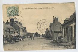 La Grande Route à VIRANDEVILLE - 10 Feron édit - Jasselin Bureau Tabac - Other Municipalities