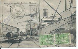 Wharf(Caes Gorjao),Lourenco Marques 1925 - Mozambique