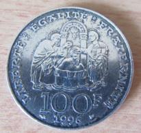 France - Monnaie 100 Francs Clovis 1996 En Argent - TTB / SUP - France