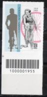 Italia 2019 -  Fausto Coppi Codice A Barre MNH ** - Códigos De Barras