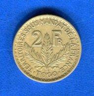 Togo  2  Fr  1924 - Togo