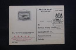 INDES NÉERLANDAISES - Entier Postal + Complément De Medan Pour Les Etats Unis En 1947 Par Avion  - L 43157 - Indes Néerlandaises