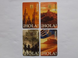 Lot 4 Télécartes FRANCE Série HOLA (TC 145/146) - Frankrijk