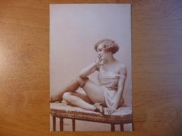 CPA - Femme En Sous-vêtements - Lingerie - Aurographie 204 érotique - A. Noyer - Nus Adultes (< 1960)