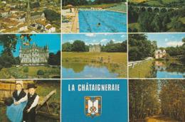 LA CHATAIGNERAIE. - Multi-Vues. CPM - La Chataigneraie