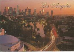 "CPM Des Etats Unis "" LOS ANGELES - Downton Skyline At Night 1997 "" - Los Angeles"