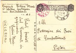 P.M.46 - XI° Corpo D' Armata - 3° Plotone Autonomo Autoblindo - Slovenia - 1939-45