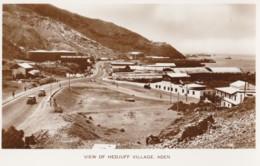 AO30 View Of Hedjuff Village, Aden - RPPC - Yemen