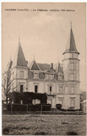 Saussy : Le Château (Editeur G. Egen Fils - Photo H.B., Dijon - Bauer, Marchet Et Cie, Dijon) - Autres Communes