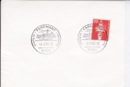 BRD Mi: 848 Leuchtturm. K Stempel. 8105 Farchant, Luftkurort Vor Garmisch Partenkirchen. 2.2.1985 - [7] République Fédérale
