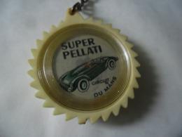 PORTE CLEFS VINTAGE SUPER PELATI CIRCUIT DU MANS - Le Mans Automobile Auto @ 4,5 Cm - Porte-clefs
