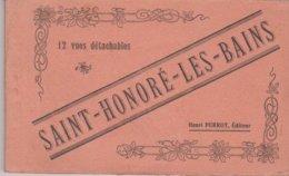 Carnet Saint Honore Les Bains 12 Cartes - Saint-Honoré-les-Bains
