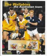 Feuillet Test Rugby - Blocs - Feuillets
