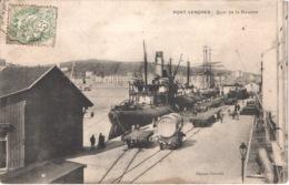 FR66 PORT VENDRES - Gérodie - Quai De La Douane - Wagon Foudre Bateau Voilier - Animée - Belle - Port Vendres