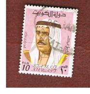 KUWAIT   -  SG 458  - 1969 AMIR SHAIKH SABAH 10       - USED ° - Kuwait