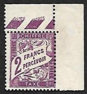 TAXE   42  - NEUF** Coin De Feuille - Portomarken