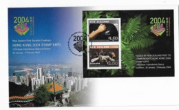 F.D.C 2004 Hong Kong New Zealand - Premiers Jours (FDC)
