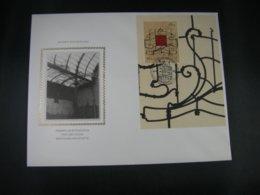 BELG.1997 BL74 FDC Soie/zijde : Promotie Van De Filatelie - Museums - - 1991-00
