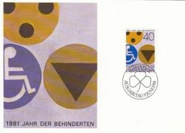 LIECHTENSTEIN Maximum Card 774 - Handicaps
