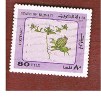 KUWAIT   -  SG 993  - 1983  DESERT PLANTS    - USED ° - Kuwait