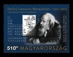 Hungary 2019 Mih. 6053 Chemistry. International Year Of The Periodic Table. Dmitri Mendeleev MNH ** - Hungría