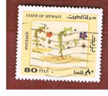 KUWAIT   -  SG 995  - 1983  DESERT PLANTS    - USED ° - Kuwait