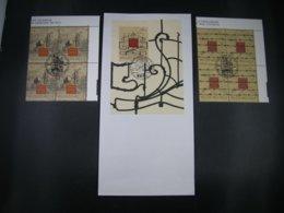 BELG.1997 2682 & 2683 MNH 4erblocs/1°jour/dag Plus BL74 FDC : Promotie Van De Filatelie - Museums - - FDC