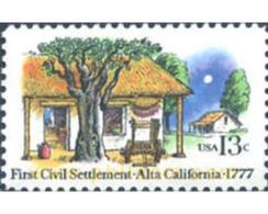 Ref. 244865 * MNH * - UNITED STATES. 1977. 200 ANIVERSARIO DE LA PRIMERA INSTITUCION CIVIL EB ALTA (CALIFORNIA) - Stati Uniti