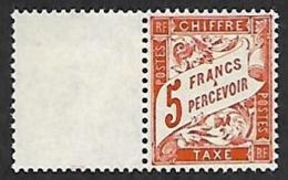 TAXE   66  - NEUF** Bord De Feuille - Portomarken