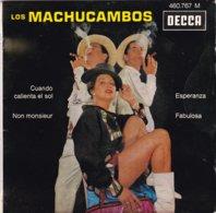 LOS MACHCAMBOS -  Cuando Calienta El Sol - EP - 45 Rpm - Maxi-Single