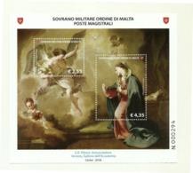 2018 - Sovrano Militare Ordine Di Malta BF 146 Quadro Di G.B. Pittoni - Paintings