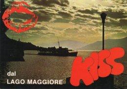 KISS DAL LAGO MAGGIORE-F.G - Saluti Da.../ Gruss Aus...