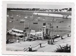 PHOTO De Pochette - SAINT MALO - L'embarcadère Des Vedettes Pour Dinard -  FT 8,5 X 6,5 Cm - Lieux