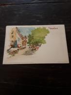 Cartolina Postale Illustrata, Postcard 1900, Genève, Illustration F. Voellmy - GE Genf