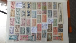 Dispersion D'une Collection Des Anciennes Colonies Françaises Avant Indépendance  De SPM à SENEGAL. Très Sympa !!! - Postzegels