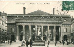 CPA - PARIS - THEATRE NATIONAL DE L'ODEON - Francia