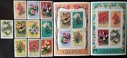# Ghana 1993**Mi.1758-75  Flowers , MNH [24;10] - Ohne Zuordnung