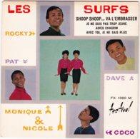 LES SURFS- Shoop Shoop... Va L'embrasser - EP - 45 Rpm - Maxi-Single