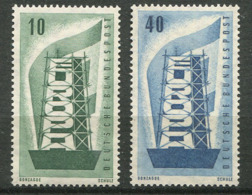 Allemagne * N° 117/118 - Europa 1956 - Europa-CEPT