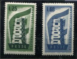 Italie * N° 731/732 - Europa 1956 - Europa-CEPT