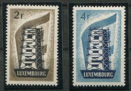 Luxembourg* N° 514/ Et 516 - Europa 1956 - Europa-CEPT