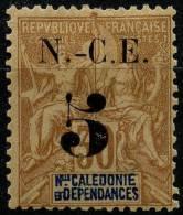 Nouvelle Caledonie (1902) N 65 * (charniere) - Neukaledonien