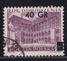 Poland 1956, Overprint, Minr 971 - 1944-.... Republik