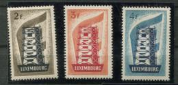 Luxembourg* N° 514 à 516  - Europa 1956 - Europa-CEPT