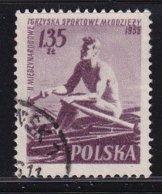 Poland 1955, Sports, Rowing, Minr 938, Vfu - 1944-.... Republik