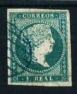 España Nº 45 Usado Cat.275€ - 1850-68 Königreich: Isabella II.