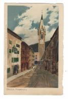 1007 - BRIXEN BRESSANONE PFARRPLATZ DISEGNATA - Bolzano (Bozen)