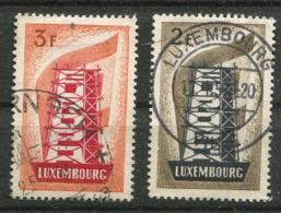 Luxembourg Ob N° 514/ 515  - Europa 1956 - Europa-CEPT